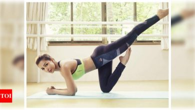 Amid rising cases of COVID-19, Malaika Arora kicks off a 14-day fitness workshop for masses - Times of India