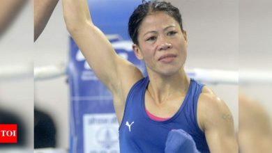 Asian Boxing Championship is crucial Olympic preparation for me: Mary Kom | Boxing News - Times of India