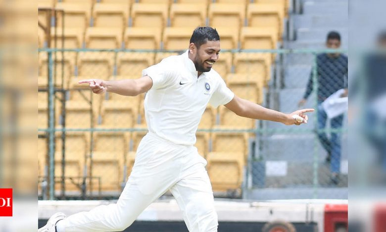 Avesh Khan:  Keen to learn a lot on tour of England, if given a chance I will be ready, says Avesh Khan | Cricket News - Times of India