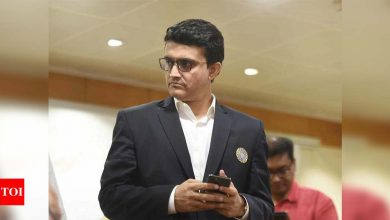 BCCI SGM: Ganguly to reach Mumbai on Friday night, focus on T20 WC, IPL and domestic players' pay | Cricket News - Times of India