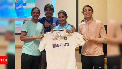 BCCI unveils Indian women team's new Test kit ahead of England tour   Cricket News - Times of India