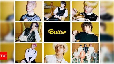 BTS' 'Butter' breaks another 'Dynamite' record; becomes fastest music video to cross 200 million views on YouTube - Times of India
