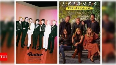 BTS' 'Friends' clip leaks online; K-Pop stars reveal their all-time favourite episode - WATCH - Times of India