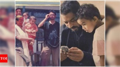 Babil Khan reminisces his 'best' Holi celebrations with THESE throwback pictures featuring  parents Irrfan Khan and Sutapa Sikdar - Times of India