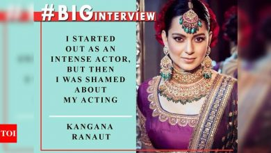 #BigInterview! Kangana Ranaut: I don't think I would have done 'The Dirty Picture' better than Vidya Balan because she was terrific - Times of India