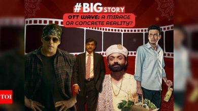 #BigStory: OTT wave: A mirage or concrete reality? - Times of India