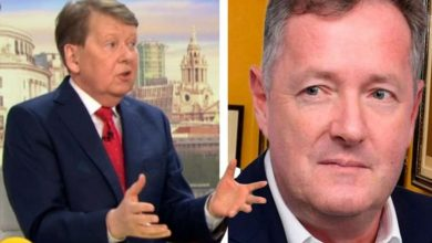 Bill Turnbull says he's 'not thinking' about Piers Morgan as he takes on new GMB role