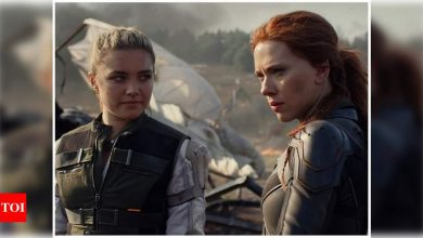 Black Widow: Scarlett Johansson-Florence Pugh show off their sister-act in new teaser release at MTV Awards 2021 - Times of India