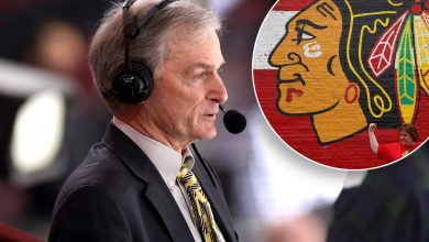 Blackhawks announcer Pat Foley under fire for on-air suicide reference