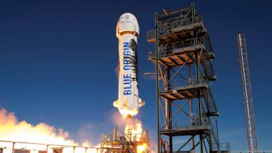 One of Blue Origin