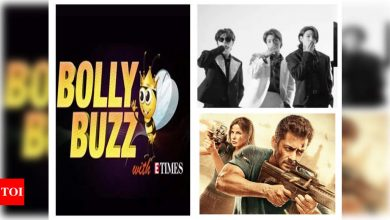 Bolly Buzz! BTS brings back the 80s in the new teaser of 'Butter', 'Tiger 3' set gets damaged by Cyclone Tauktae, Priyanka Chopra collects $3 million for COVID relief - Times of India ►