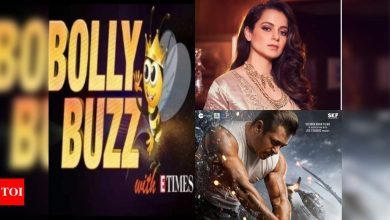 Bolly Buzz: Kangana Ranaut's Twitter account gets suspended; Salman Khan's 'Radhe' gets UA certificate - Times of India ►