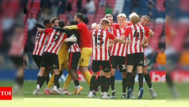 Brentford end 74-year wait for promotion to Premier League | Football News - Times of India