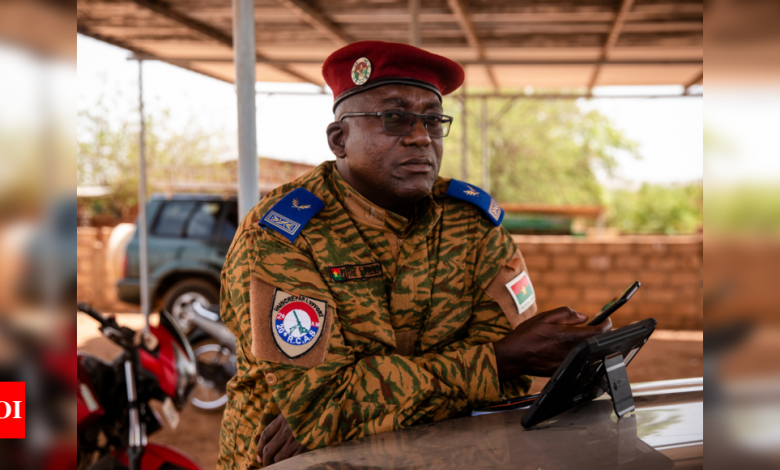 Burkina Faso's army chaplains tested by extremist conflict - Times of India