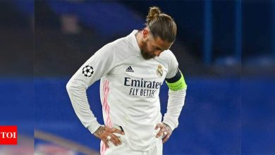 Captain Sergio Ramos left out of Spain squad for Euro 2020   Football News - Times of India