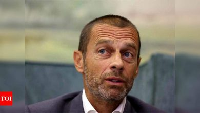 Ceferin says he is in favour of Champions League 'Final Four' | Football News - Times of India