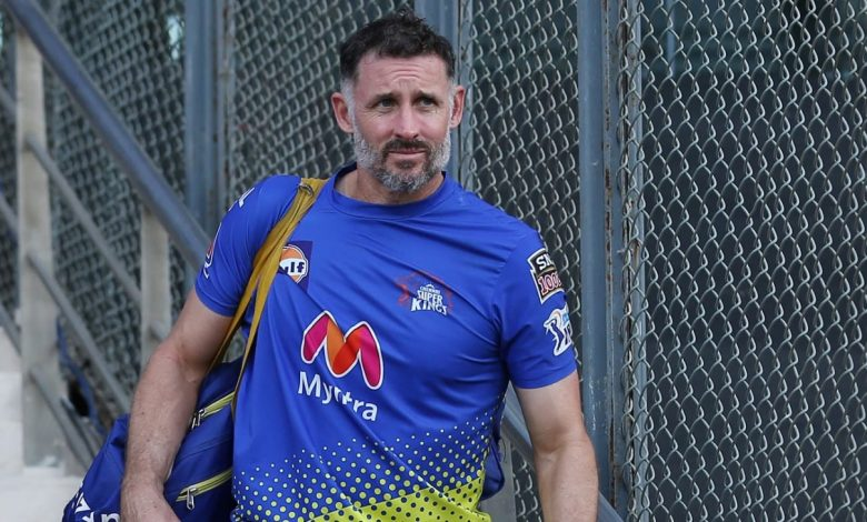 Chennai Super Kings batting coach Michael Hussey tests positive for Covid-19
