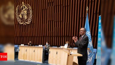 Countries mull WHO reform and how to rebuild post-Covid world - Times of India