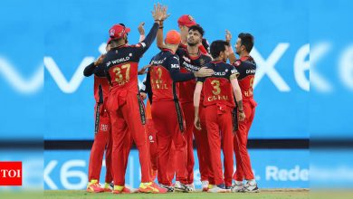 Covid hits IPL 2021: RCB players were reluctant to go ahead with KKR game   Cricket News - Times of India