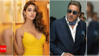 Disha Patani on Jackie Shroff playing her on-screen brother in 'Radhe…' - Times of India