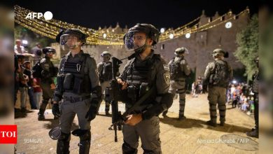 Dozens wounded in clashes at Jerusalem's Al-Aqsa compound - Times of India
