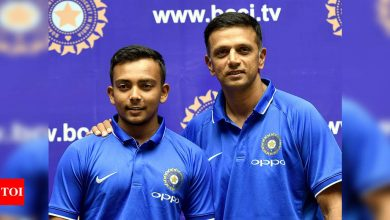 Dravid sir never asked me to curb my natural game: Prithvi Shaw | Cricket News - Times of India