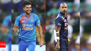 EXCLUSIVE: Shikhar Dhawan will be a good choice for captain for the tour of Sri Lanka, says Deepak Chahar | Cricket News - Times of India