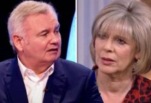 Eamonn Holmes blames wife Ruth Langsford over chronic pain battle in cheeky quip