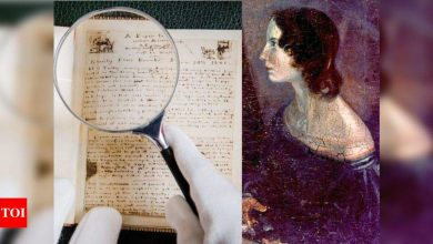 Emily Brontë's rare handwritten poems up for auction soon - Times of India