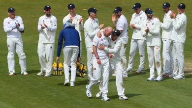 Emotional Chris Rushworth breaks record as Durham power to victory