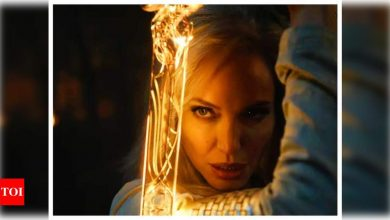'Eternals' star Angelina Jolie reveals she is keen to direct or act in a Korean movie - Times of India