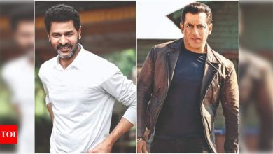 Exclusive: Prabhudeva on 'Radhe'! Says he has a lot of love and respect for Salman Khan - Times of India