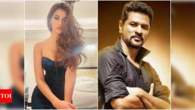 Exclusive: Prabhudeva on Disha Patani! Says the youth is crazy about the 'Radhe…' heroine - Times of India