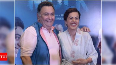 Exclusive! Taapsee Pannu: Rishi Kapoor was this big Punjabi man and had an intimidating energy - Times of India