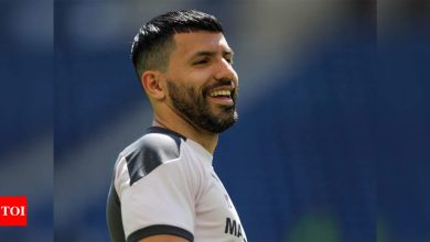 FC Barcelona sign Sergio Aguero until 2023 | Football News - Times of India