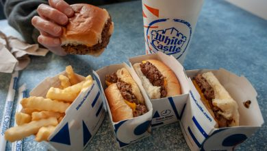 Fans camp overnight to eat at largest White Castle on opening day