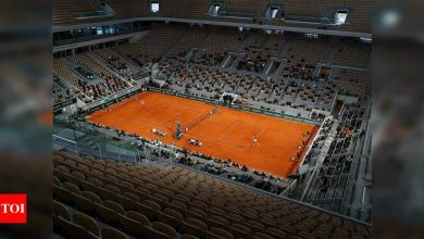 Fans must show they're virus-free to attend Roland Garros: Organisers   Tennis News - Times of India