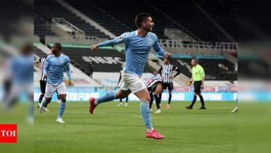 Ferran Torres hat-trick as record-breaking Manchester City beat Newcastle | Football News - Times of India