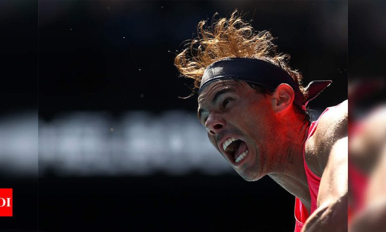 Few obstacles lie between Rafael Nadal and record 21st Grand Slam title   Tennis News - Times of India