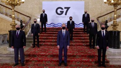 Foreign ministers of Britain, Canada, France, Germany, Italy, Japan and the United States are wrapping up three days of talks in central London that will set the agenda for a G7 leaders