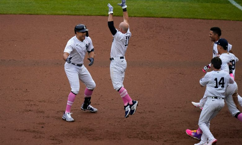 Giancarlo Stanton lifts Yankees to another walk-off win
