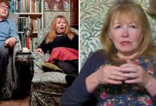 Gogglebox star Giles Wood's 'brutal' swipe at wife Mary Killen leaves viewers gobsmacked