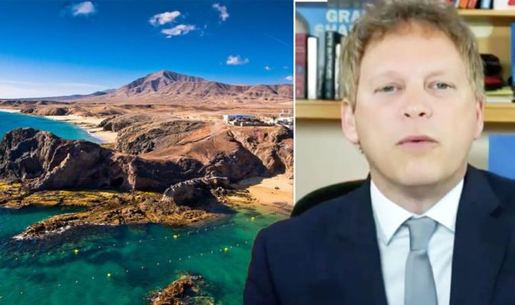 Grant Shapps 'green list' update on Canary, Balearic & Greek islands - 'not to disappoint'