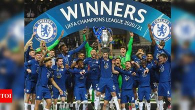 Havertz goal wins Champions League for Chelsea against Manchester City | Football News - Times of India