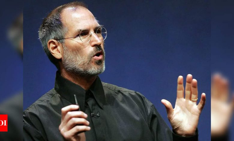 Here's what Steve Jobs said about Facebook 10 years ago - Times of India