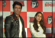 Here's why Sonu Sood thinks his 'Simmba' co-star Sara Ali Khan is a 'hero' - Times of India