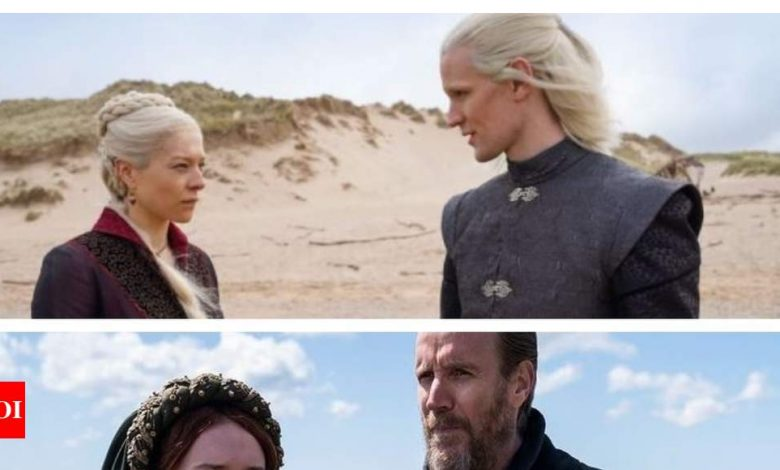 House of the Dragon: First look photos of Matt Smith as Daemon Targaryen, Olivia Cooke as Alicent Hightower are here and they'll get you excited for the Game of Thrones spinoff - Times of India
