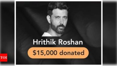 Hrithik Roshan joins Hollywood stars in raising USD 3.68 million for India's COVID-19 relief efforts - Times of India