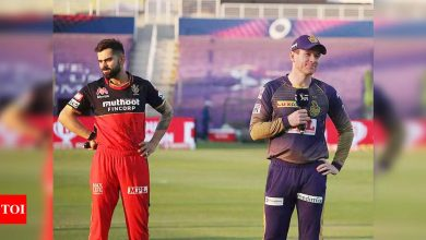 IPL 2021, KKR vs RCB: Today's clash between Kolkata Knight Riders and Royal Challengers Bangalore postponed after two KKR members test positive | Cricket News - Times of India
