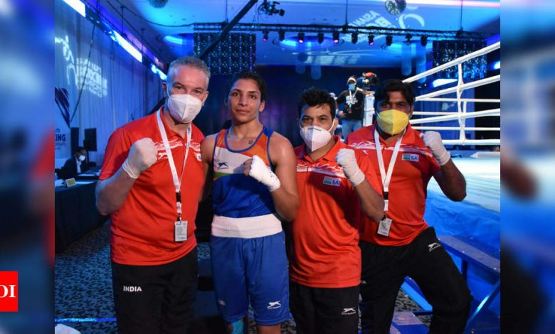 India assured of four more medals at Asian Boxing Championships   Boxing News - Times of India